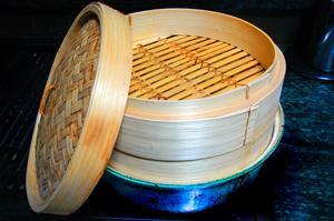 Chinese steamer rack for steaming vegetables