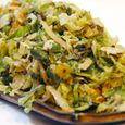 Shredded Brussels Sprouts with Fresh Herbs