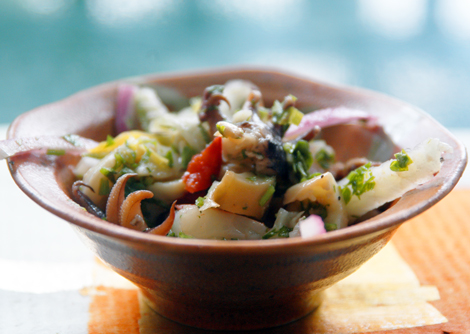 Smoked Shellfish Salad