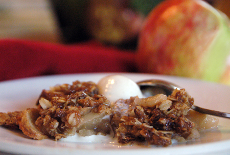 Apple Crisp (Reduced Carb Version)