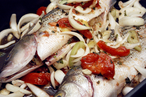 Easy striped bass recipes oven