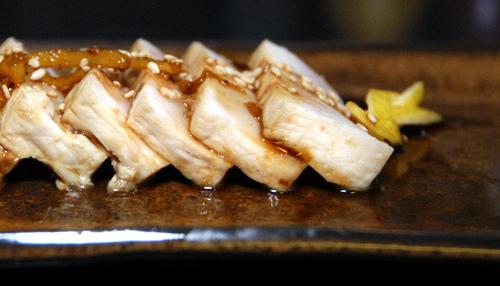 Ginger Teriyaki Swordfish