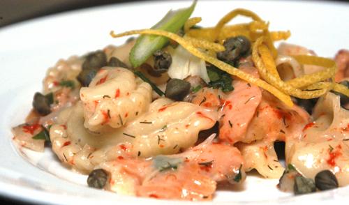 Smoked Salmon Absorption Pasta