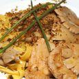 Lion's Mane and Oyster Mushroom Pasta