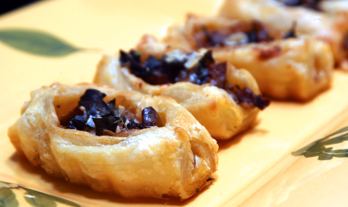 Mini-Pissaladieres: Quick Anchovy Tartlets with Olives and Cheese
