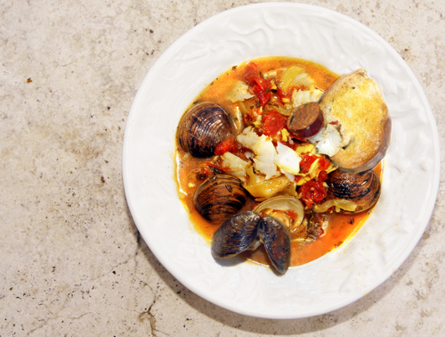 Spanish-style Fish Stew