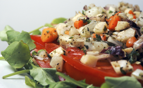 Marinated Root Vegetable Salad
