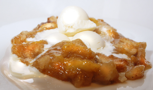 Peach Cobbler - The Pastry Variation3