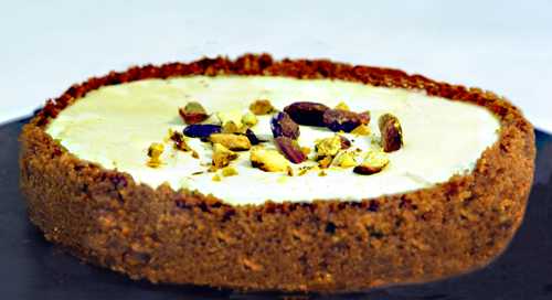Pistachio Cream Tartlet
