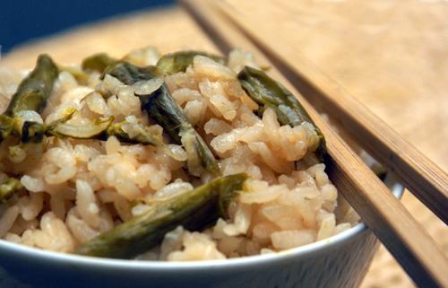 Asparagus Rice (Asuparagasu Gohan)