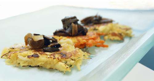 Carrot and Parsnip Pancakes