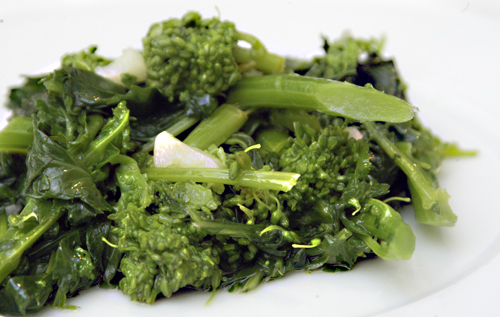 Broccoli Rabe with Oil and Garlic