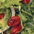 Arugula Salad with Roasted Tomatoes & Pine Nuts