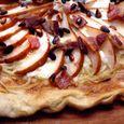 Pear, Bacon and Gorgonzola Pizza