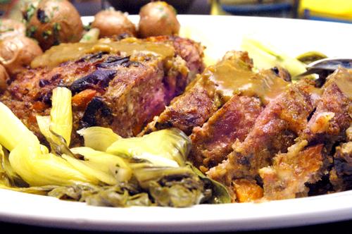 Pork and Porcini Meatloaf