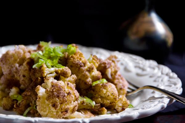 Roasted cauliflower with garam masala recipe stephencooks roasted cauliflower masala forumfinder Images