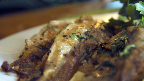 Pan Roasted Smelts