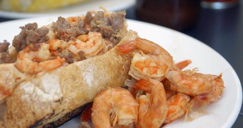 Beer-Boiled Shrimp Po'Boy